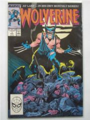 Wolverine #1 (1988) 1st Patch Appearance Marvel Comics